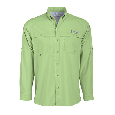 Columbia 149726 Men's PFG Terminal Zero Long Sleeve ...