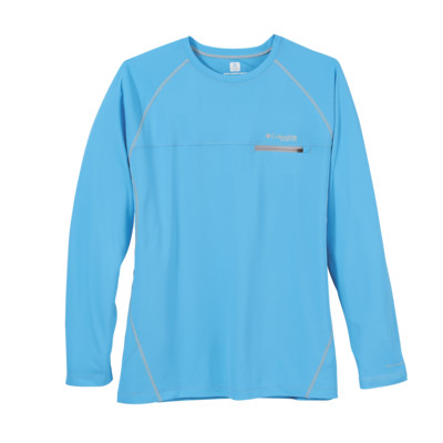 Columbia 157713 - Men's Cool Catch Tech Zero Long Sleeve ...