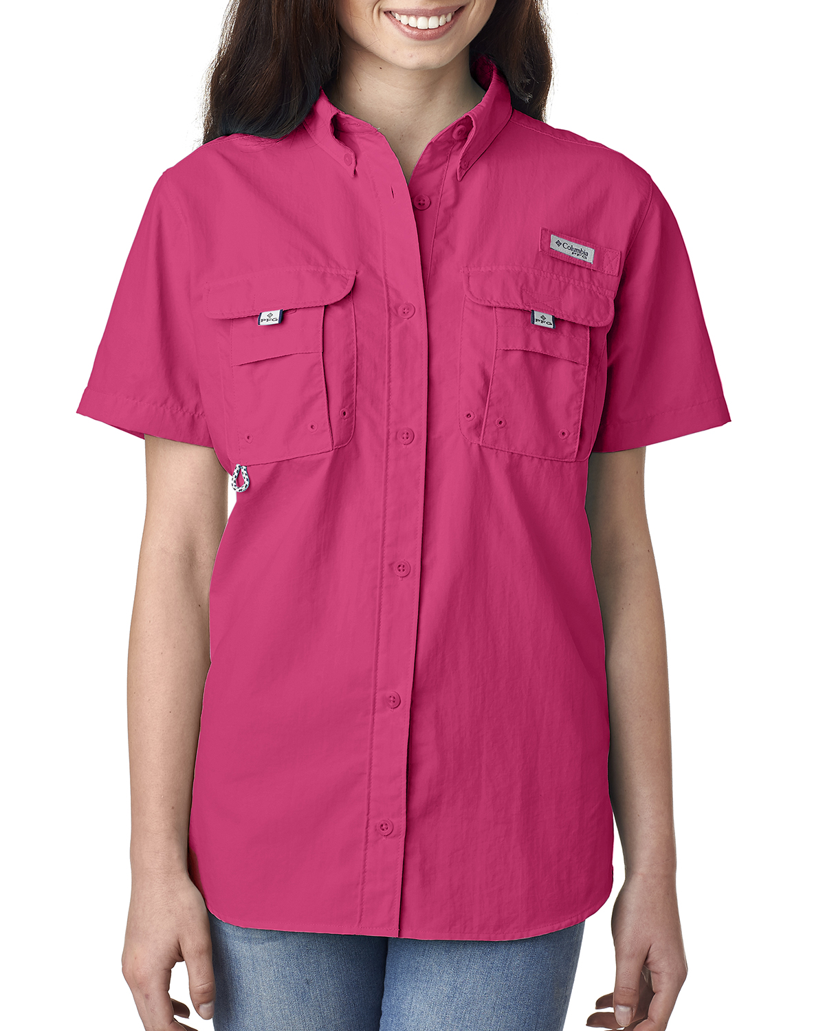 Columbia 7313 - Ladies' Bahama™ Short-Sleeve Shirt
