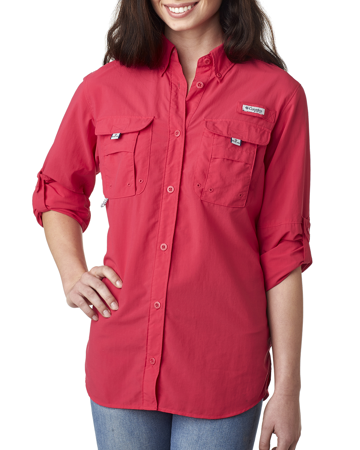 Columbia 7314 - Ladies' Bahama™ Long-Sleeve Shirt