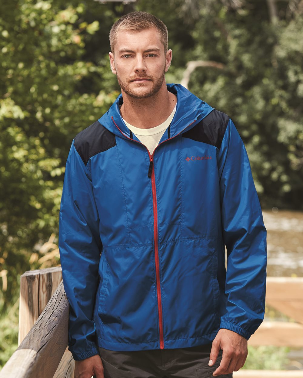 Columbia 158932 - Flashback Full-Zip Windbreaker