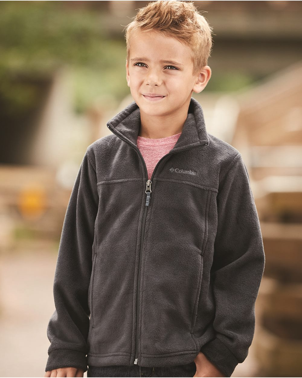 Columbia 151045 - Youth Steens Mountain Full-Zip Jacket