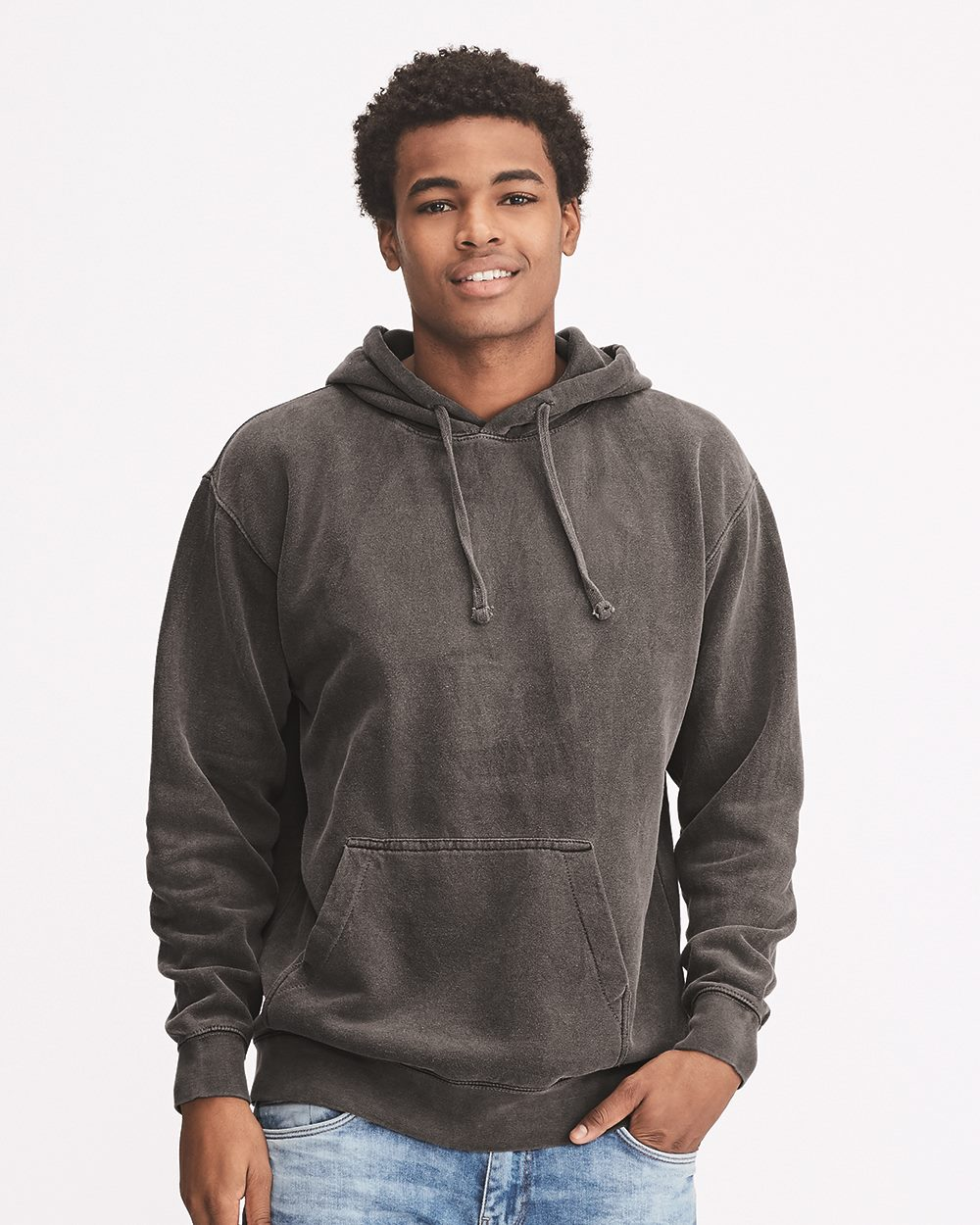 Comfort Colors 1567 - Garment Dyed Hooded Pullover Sweatshirt