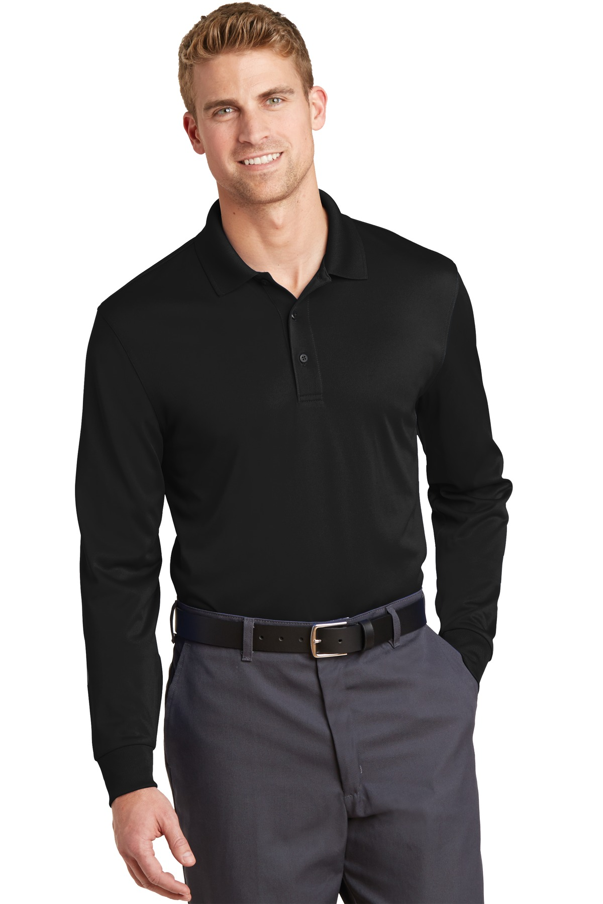 CornerStone  CS412LS - Select Snag-Proof Long Sleeve Polo