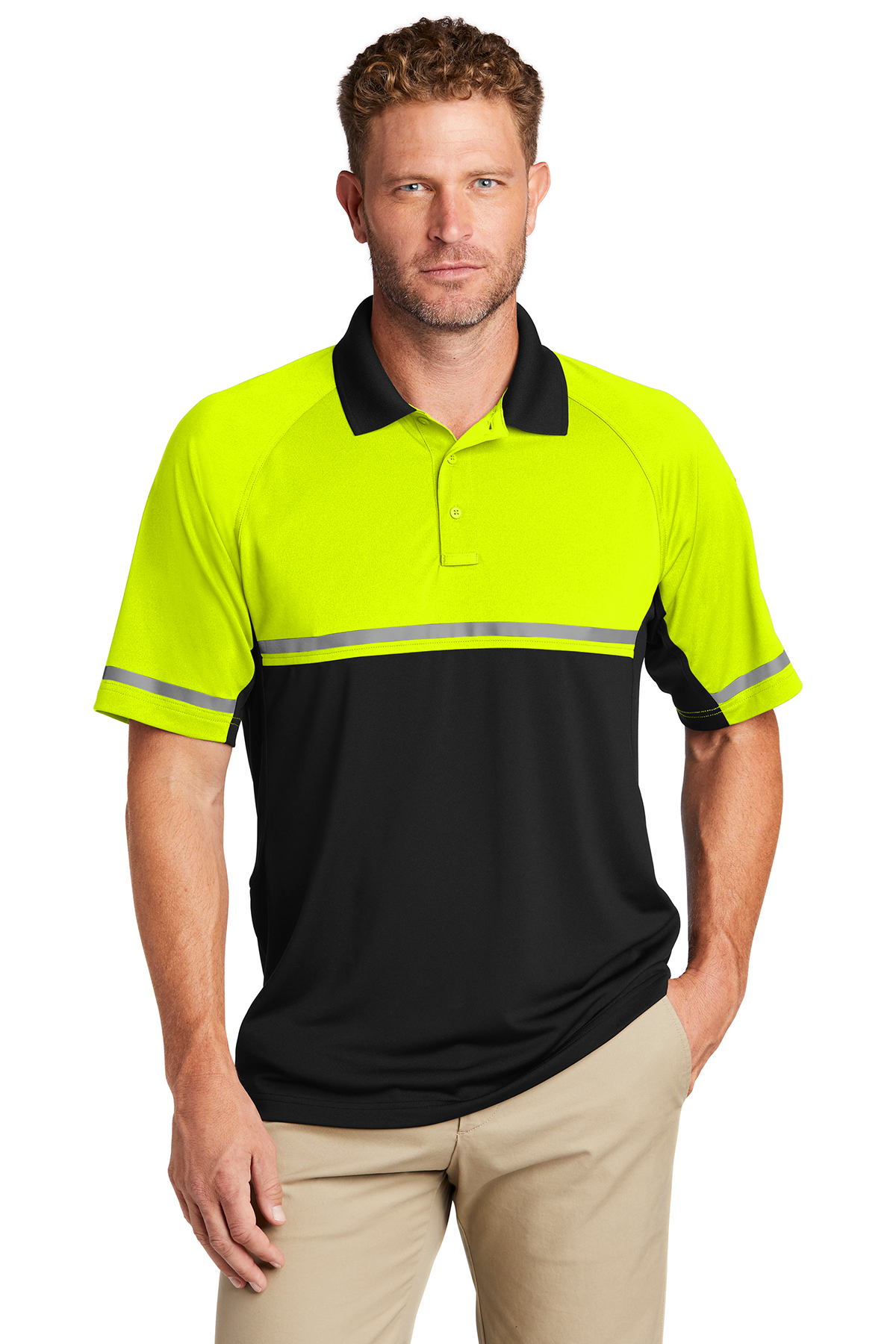 CornerStone CS423 - Select Lightweight Snag-Proof Enhanced Visibility Polo