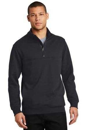 CornerStone® CS626 - Half Zip Job Shirt