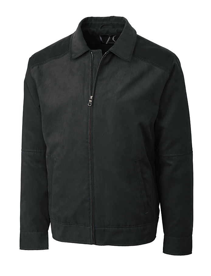CUTTER & BUCK BCO00917 - B&T Men's Microsuede Roosevelt Jacket