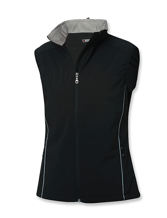 CUTTER & BUCK LQO00006 - Clique Ladies' Softshell Vest