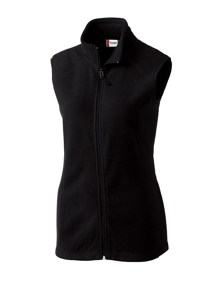 CUTTER & BUCK LQO00017 - Clique Ladies' Summit Full Zip Microfleece Vest