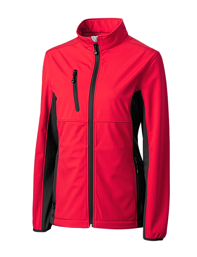 CUTTER & BUCK LQO00042 - Clique Ladies' Narvik Colorblock Softshell
