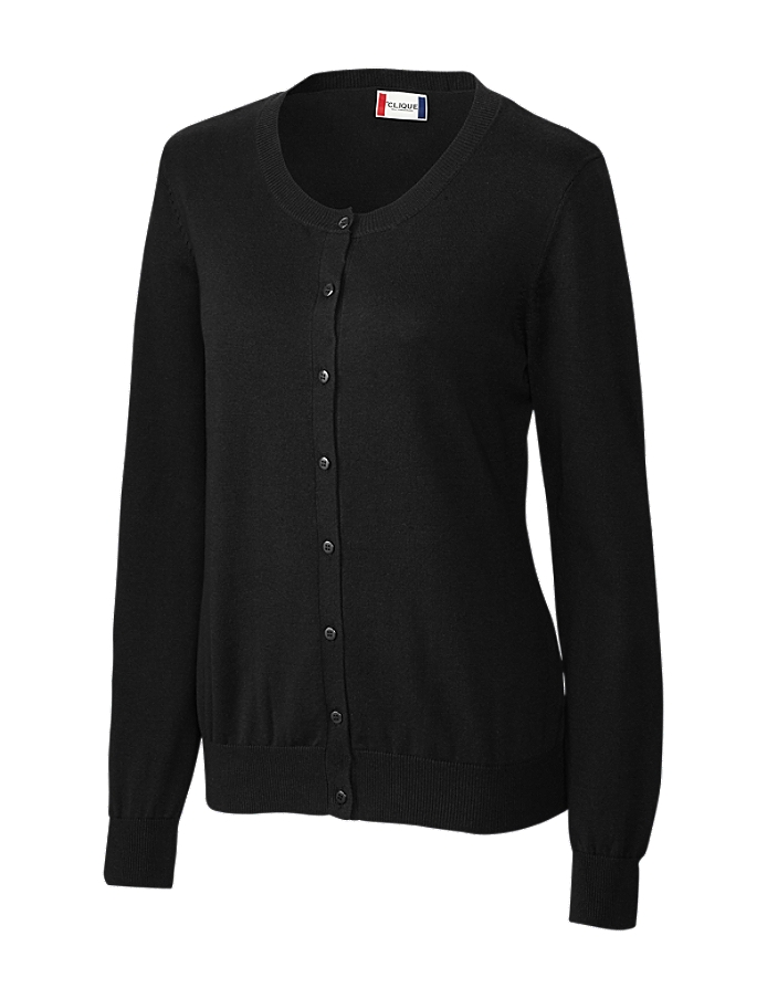 CUTTER & BUCK LQS00002 - Clique Ladies' Imatra Cardigan Sweater