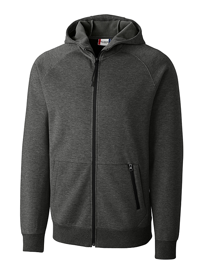 CUTTER & BUCK MQK00048 - Clique Men's Lund Fleece Zip ...