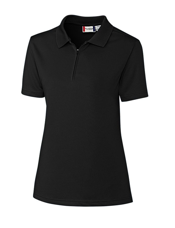 CUTTER & BUCK Clique LQK00056 - Ladies' Malmo Snag Proof Zip Polo