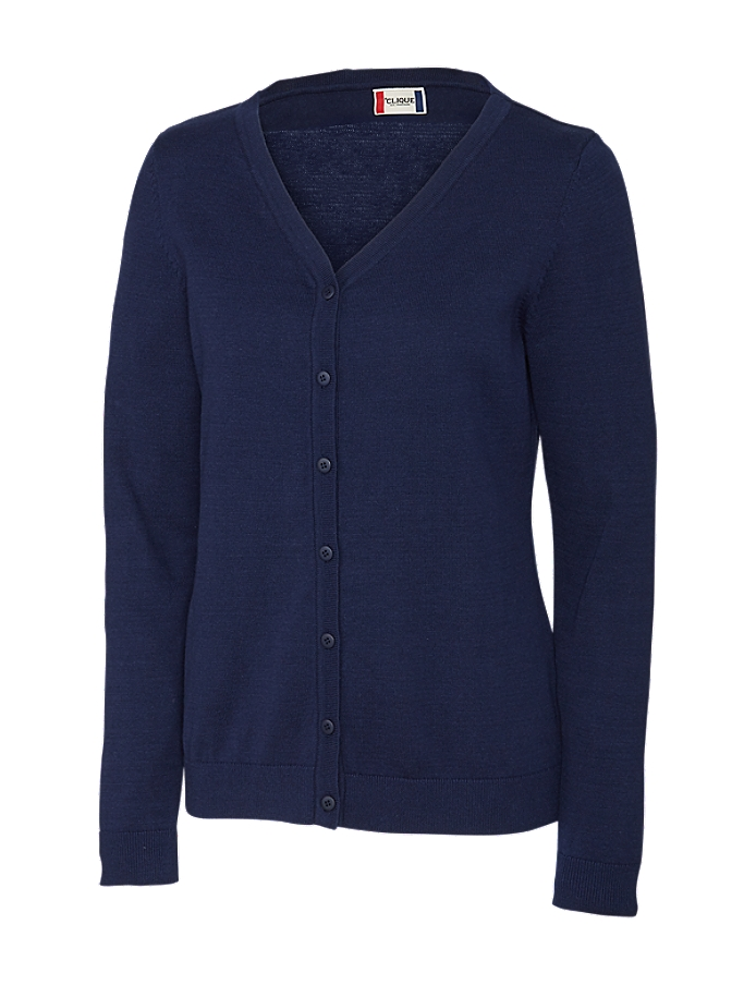 CUTTER & BUCK Clique LQS00005 - Ladies Imatra V-neck Cardigan