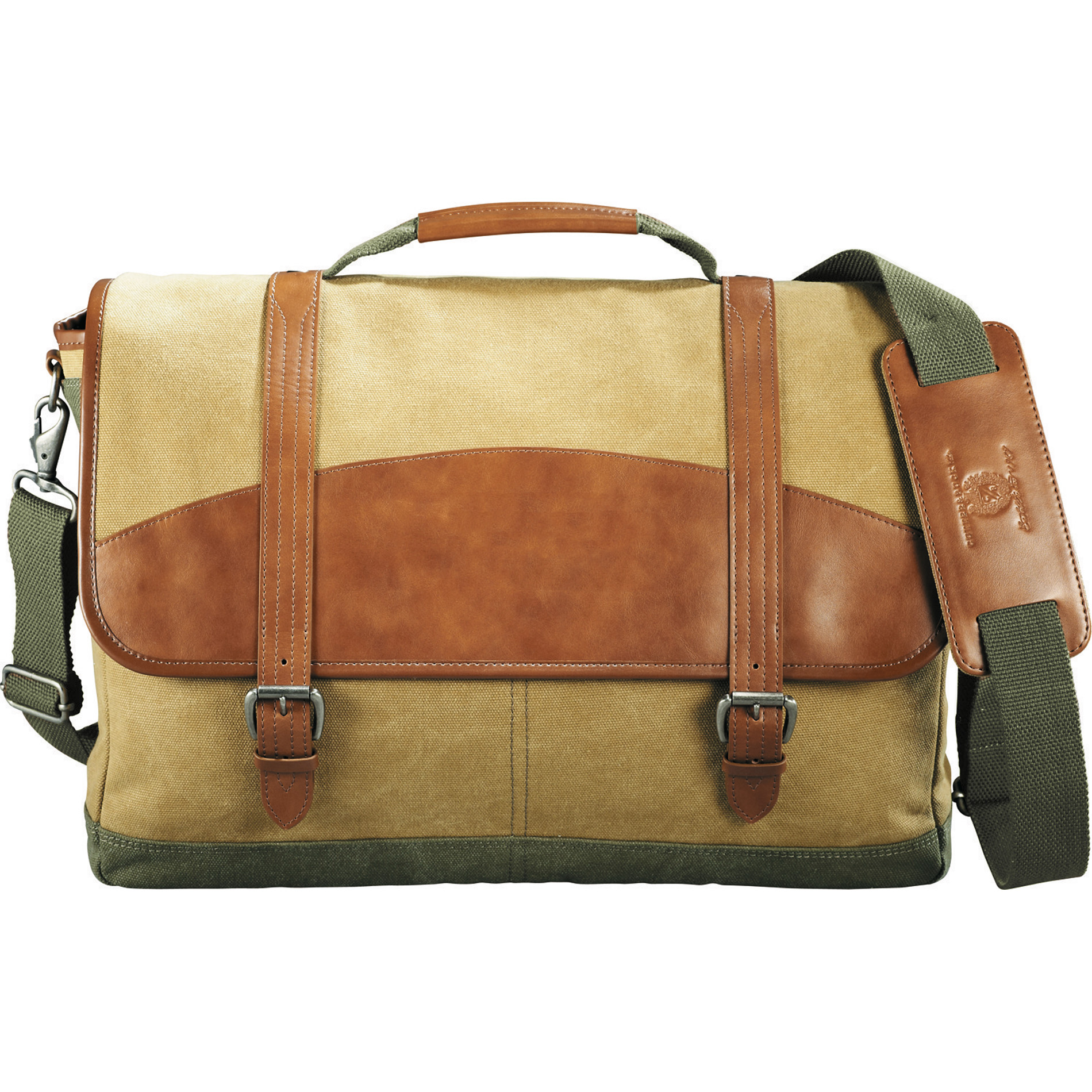 "Cutter & Buck 9840-55 - Legacy Cotton 17"" Computer Messenger"