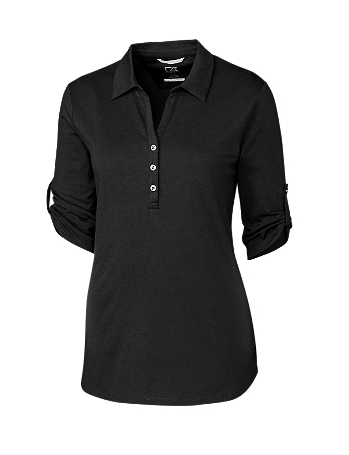 CUTTER & BUCK LCK00004 - Ladies' E/S Thrive Polo