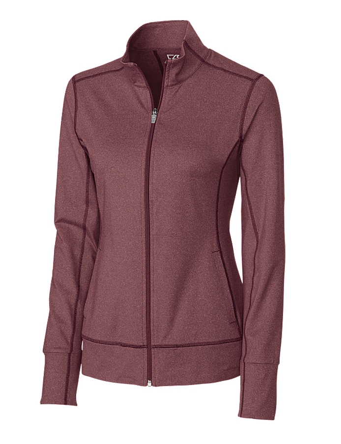 CUTTER & BUCK LCK02560 - Ladies' CB DryTec Ladies Topspin Full Zip