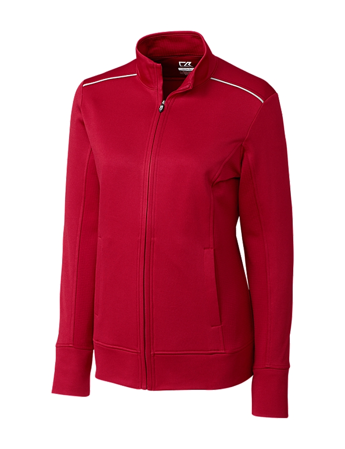 CUTTER & BUCK LCK02571 - Ladies' CB WeatherTec Ridge Full Zip