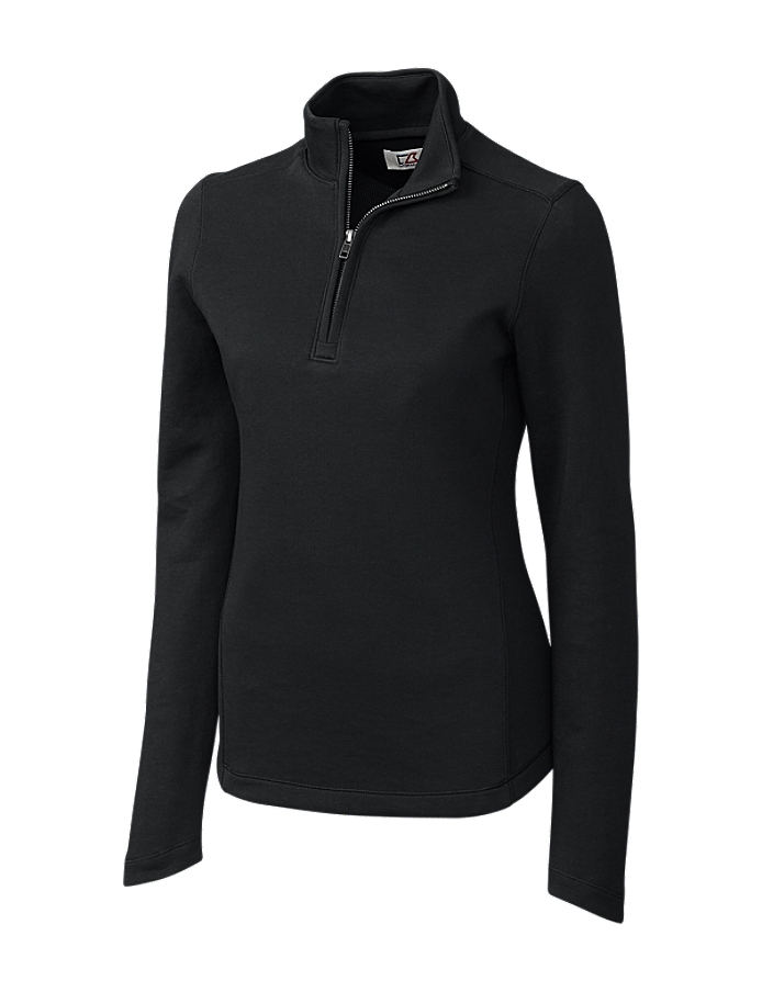 CUTTER & BUCK LCK02585 - Ladies' L/S Decatur Pima Half ...