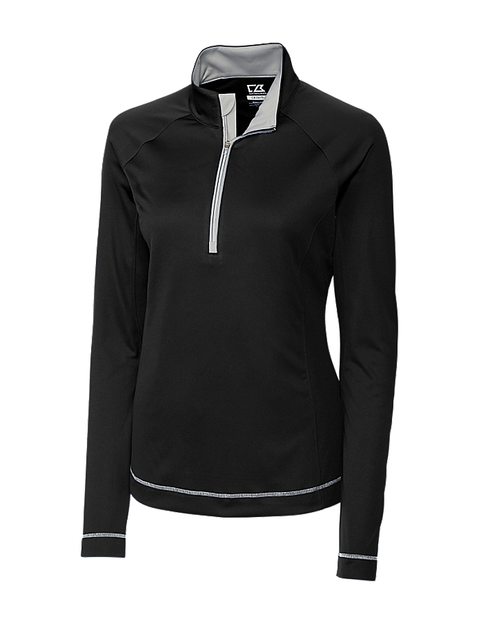 CUTTER & BUCK LCK02592 - Ladies' CB DryTec L/S Evolve ...