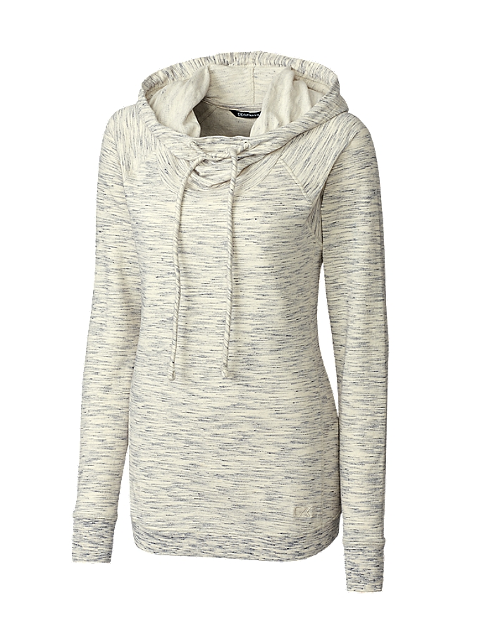 CUTTER & BUCK LCK08704 - Ladies L/S Tie Breaker Hoodie
