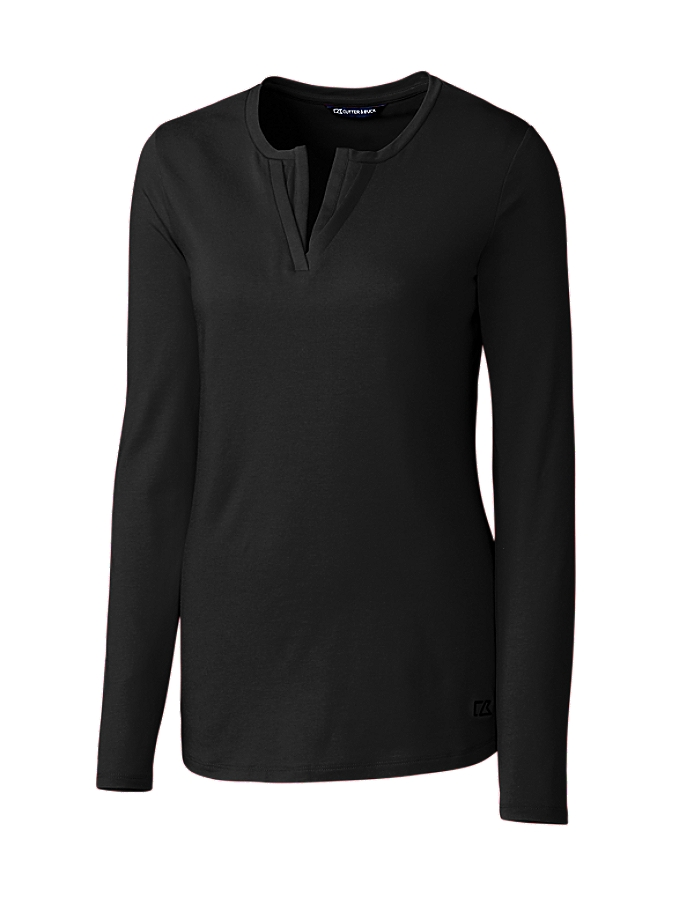 CUTTER & BUCK LCK08720 - Ladies' L/S Avail Double V-...