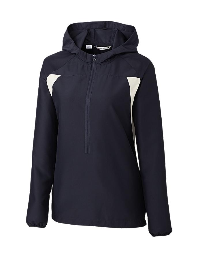 CUTTER & BUCK LCO01215 女士CB 防风保暖防寒连帽外套夹克