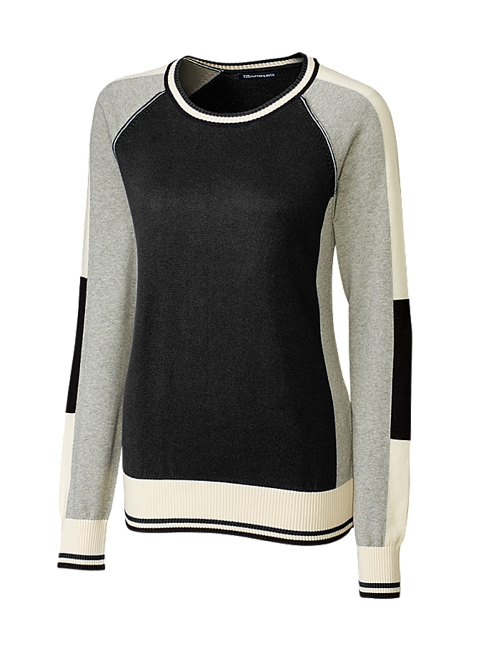 CUTTER & BUCK LCS08102 - Ladies' Stride Colorblock Sweater