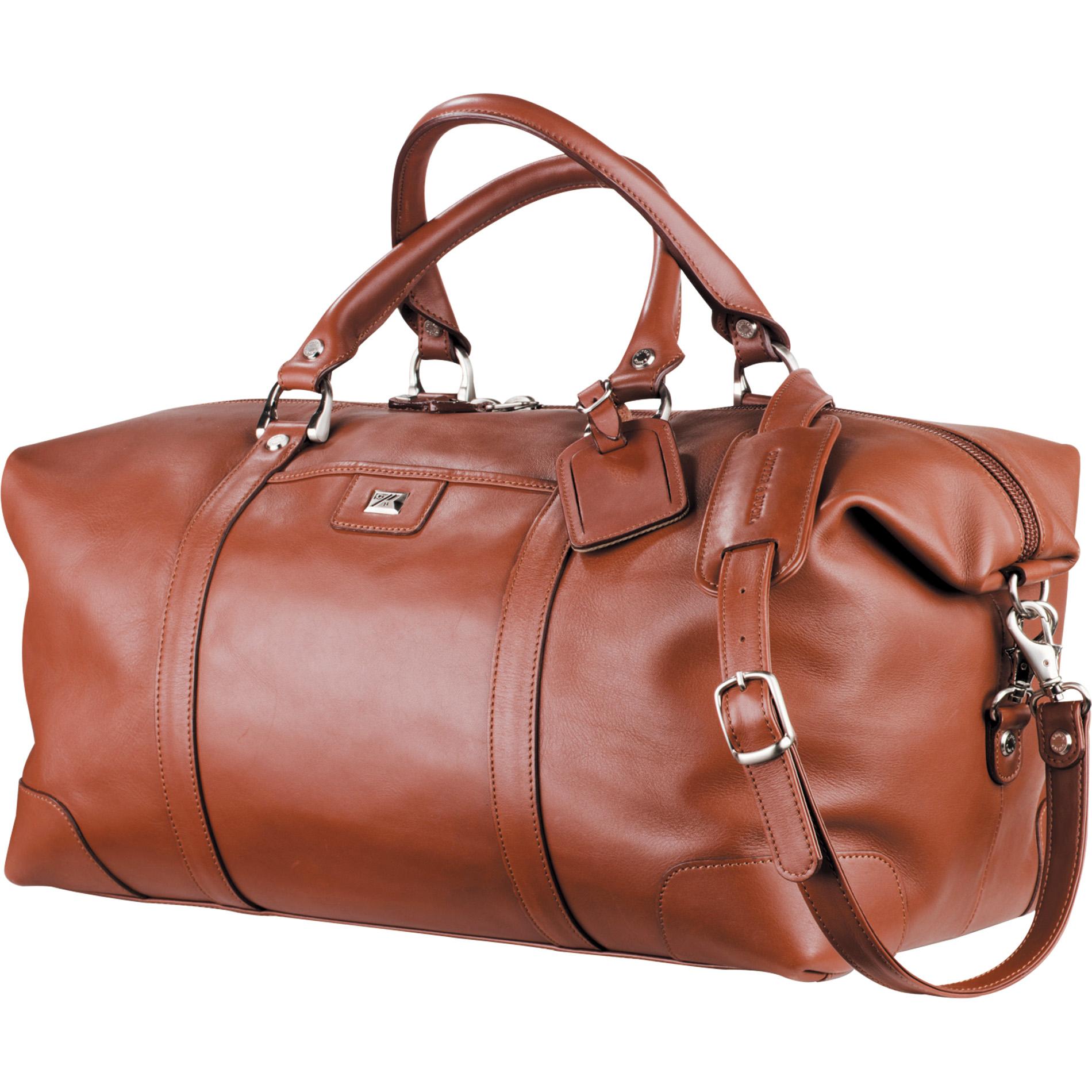 "Cutter & Buck 9800-83 - 19"" Leather Weekender Duffel Bag"