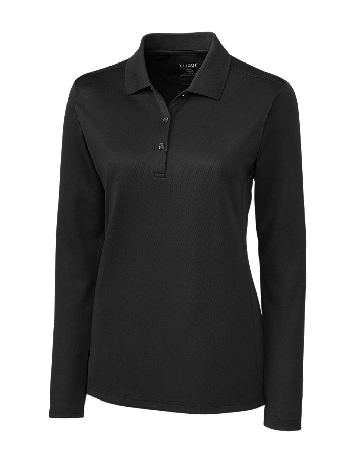 CUTTER & BUCK LQK00068 - Clique Ladies' L/S Ice Lady ...