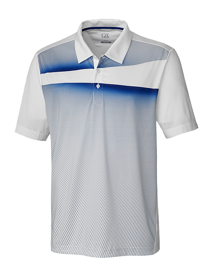 CUTTER & BUCK MCK00059 - Men's Ascend Print Polo - Limited Edition