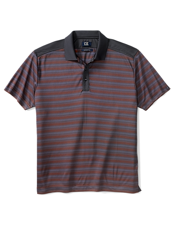 CUTTER & BUCK MCK00582 - Men's CB DryTec Luxe Wade Polo