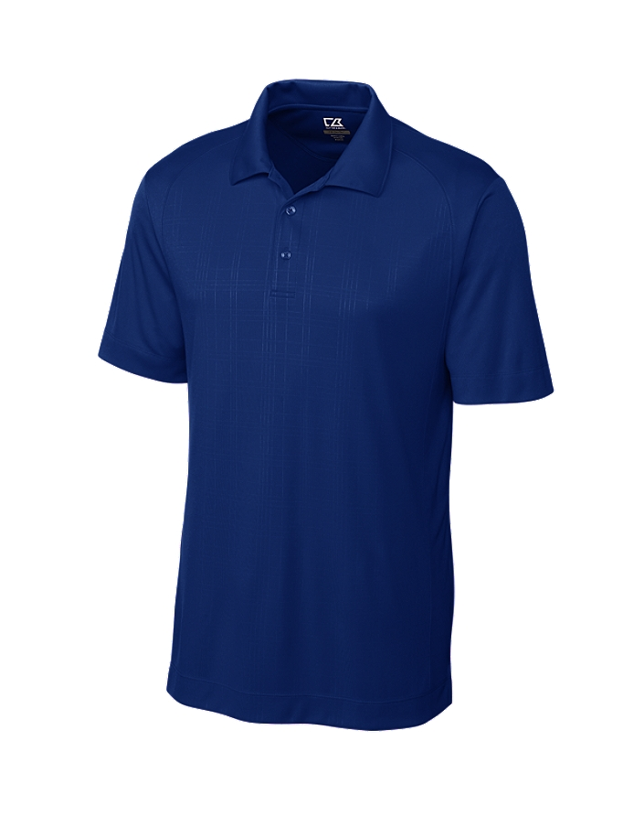 Cutter buck mck00665 men 39 s cb drytec sullivan embossed for Cutter buck polo shirt size chart