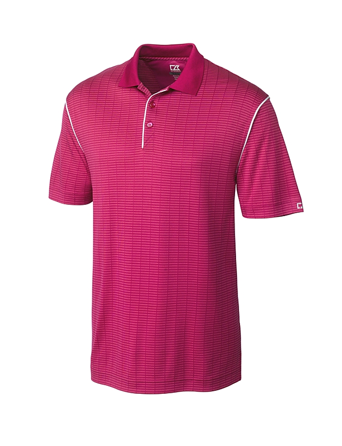 CUTTER & BUCK MCK00683 - Men's CB DryTec Luxe Howard Polo
