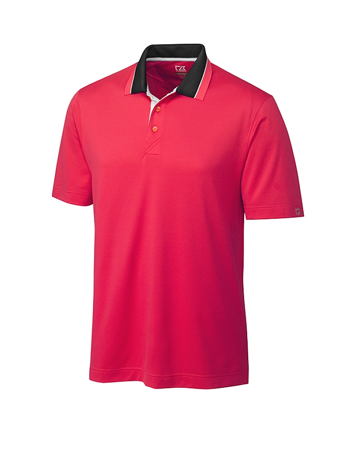 CUTTER & BUCK MCK00730 - Men's CB DryTec Etched Polo