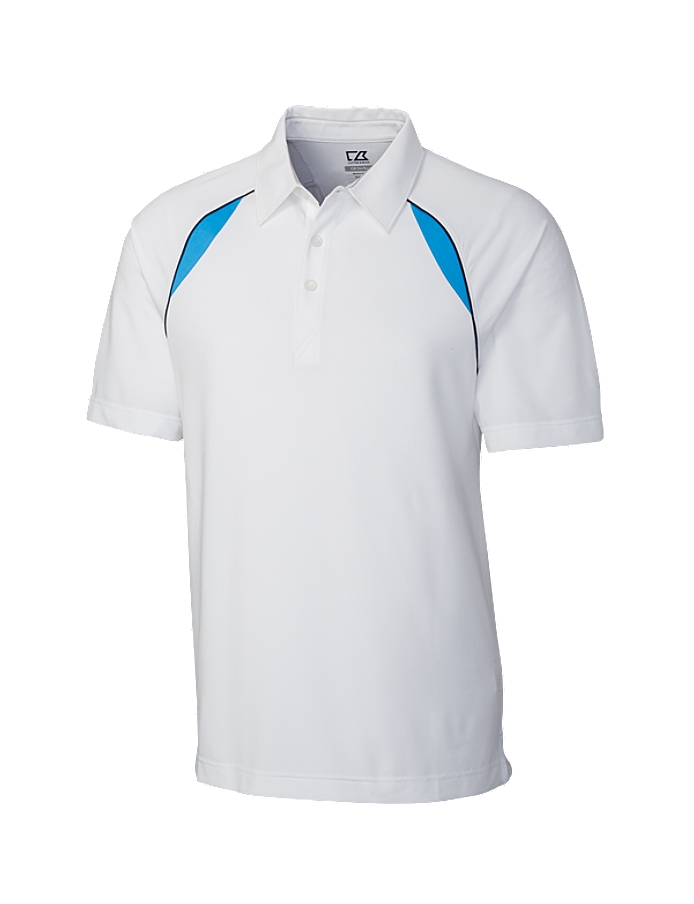 CUTTER & BUCK MCK00773 - Men's CB DryTec Chutes Piped Polo