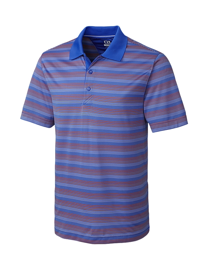 CUTTER & BUCK MCK00947 - Men's CB DryTec Halyard Stripe
