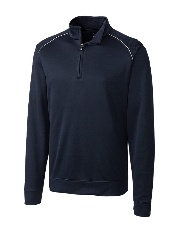 Cutter Buck Mck00974 Mens Cb Weathertec Ridge Half Zip 4631