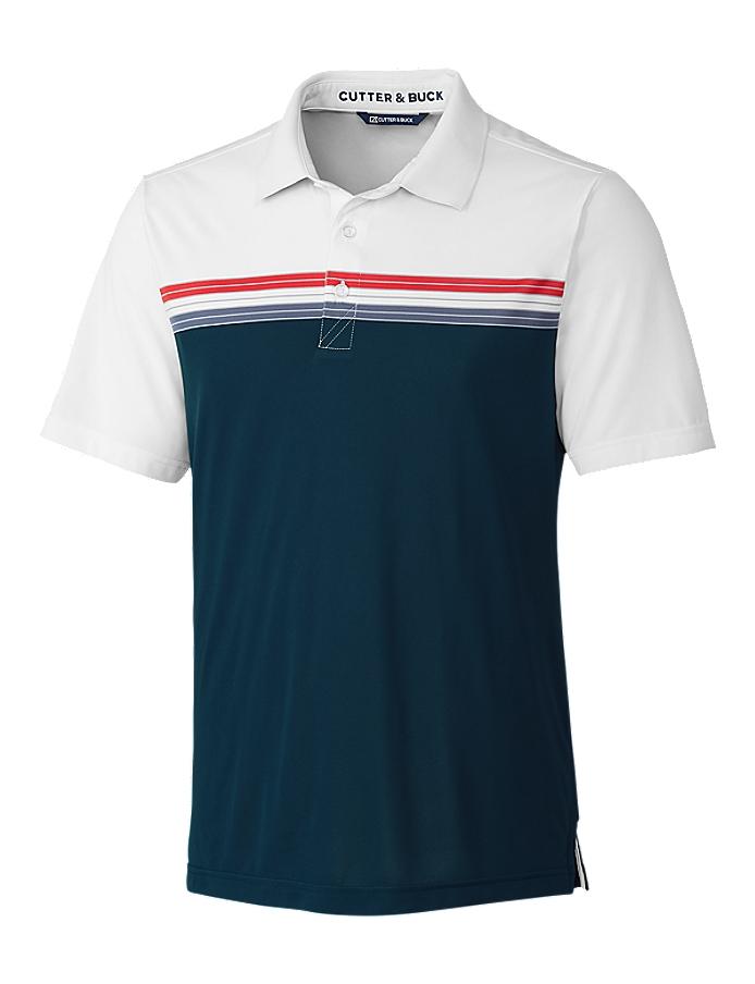 CUTTER & BUCK MCK01053 - Men's Alki Sport Stripe Polo ...