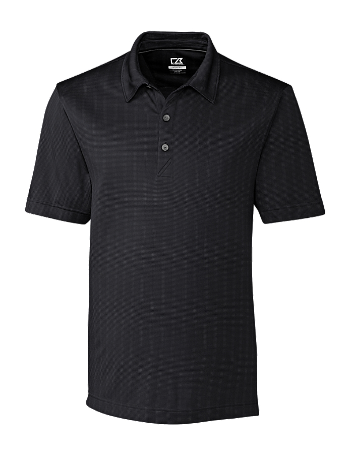 CUTTER & BUCK MCK09255 Men's Hamden Jacquard Polo