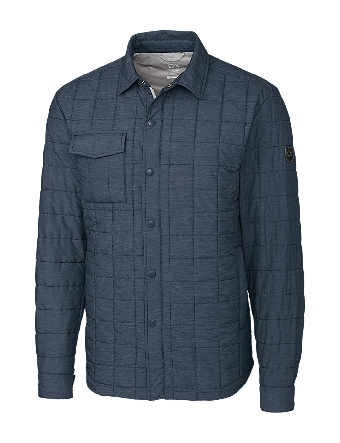 CUTTER & BUCK MCO00032 - Men's Rainier Shirt Jacket
