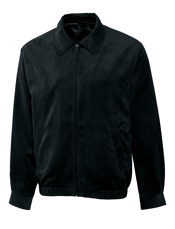 CUTTER & BUCK MCO09185 - Men's Micro Suede City Bomber