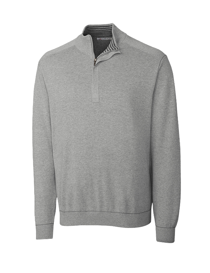 CUTTER & BUCK MCS01424 - Men's Broadview Half Zip Sweater