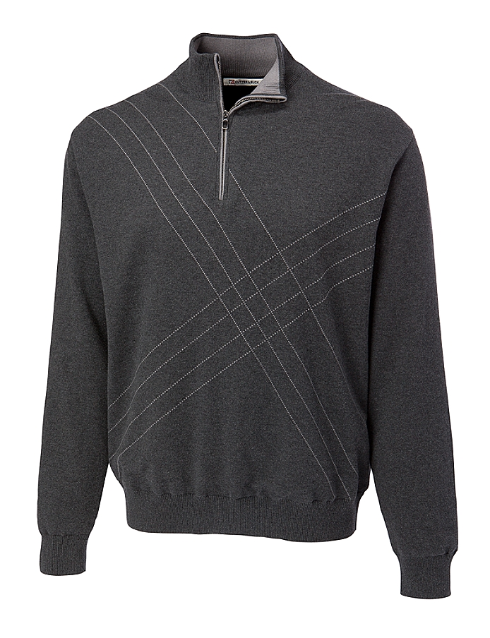 CUTTER & BUCK MCS01850 - Men's Peak Half Zip Wind Sweater