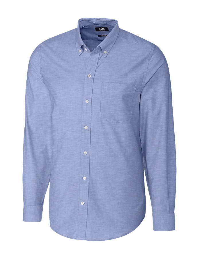 CUTTER & BUCK MCW00138 - Men's L/S Stretch Oxford