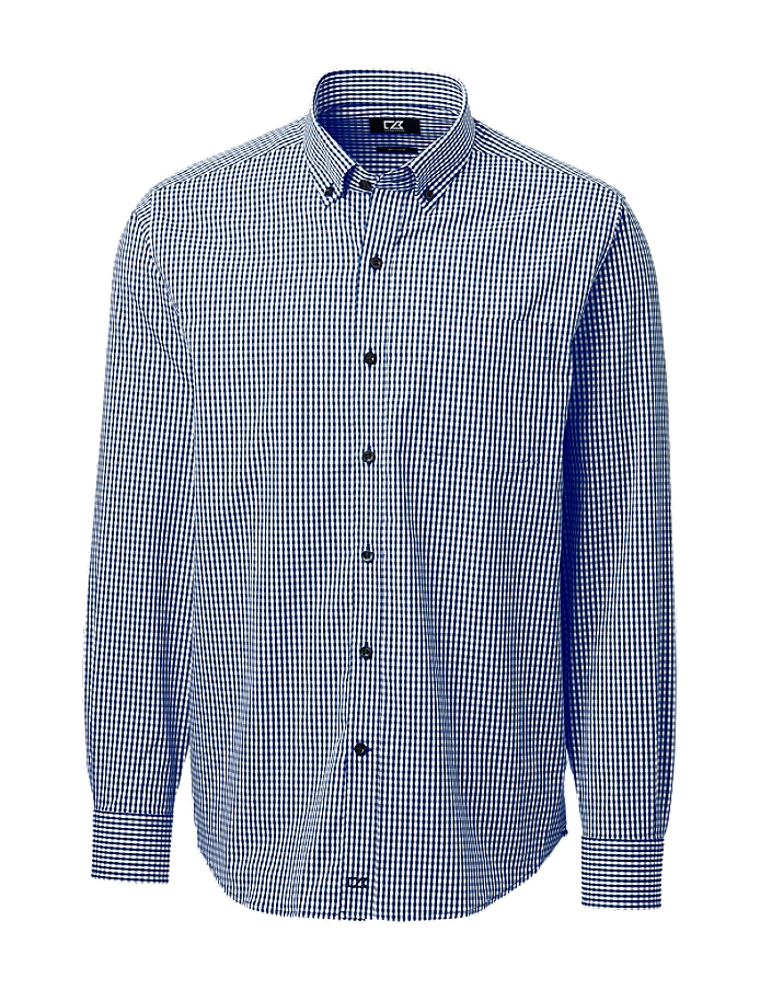 CUTTER & BUCK MCW00183 - Men's Anchor Gingham Shirt