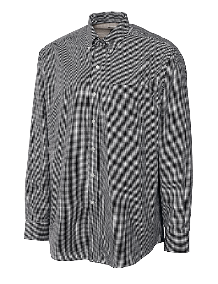 CUTTER & BUCK MCW01744 - Men's L/S Cutter Gingham