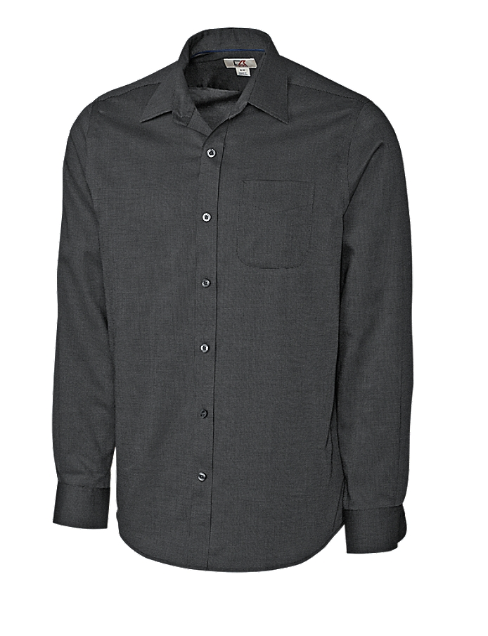 CUTTER & BUCK MCW09474 - Men's L/S Tailored Fit Spread ...