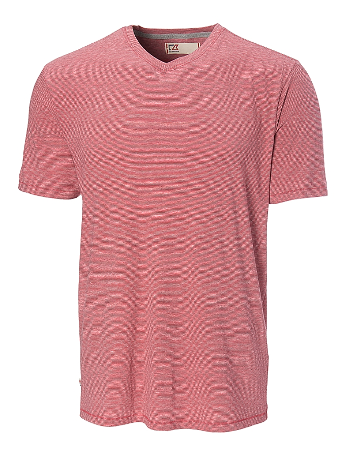 CUTTER & BUCK MDK00043 - Men's Vashon Striped V-neck