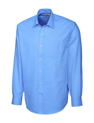 CUTTER & BUCK BCW02054 - B&T Men's L/S Epic Easy Care Spread Nailshead